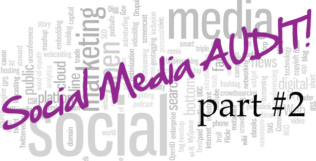 Annual Social Media Audit - Part 2 - Check Your Branding
